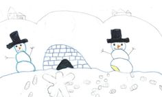 TUESDAY'S WEATHER: Rain, then snow, warming to 30. Dara Loder, 11, of Missoula created today's weather picture. Weather art from Montana kids runs every day in the Missoulian.