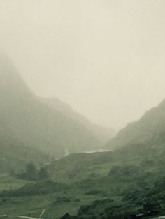 The Gap of Dunloe - even in the driving rain it is beautiful