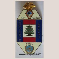 420° DSL 14° Mandat FINUL Compagne Appro - Insignes.com