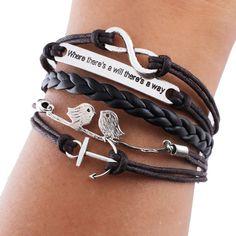 diy leather bracelet - Google Search