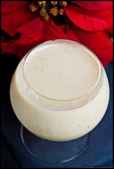 Clean Eating Eggnog