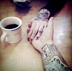 coffee and tattoo