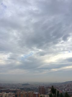 Nublado...