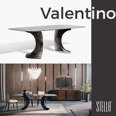 Mermer seçeneği, Stella Mobilya kalitesiyle üretilen özel ayak detayı ve şıklığıyla Valentino Yemek Grubu.
