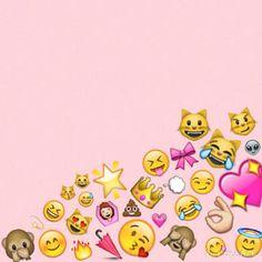 emoji wallpaper for iphone  Imagen de wallpaper, emoji, and iphone …   Backgrounds   Pinte…
