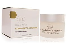 Holy Land Cosmetics Alpha Beta Retinol Restoring Cream -- Read more at the image link. Beta Beta, Retinol Cream, Alpha Hydroxy Acid, Face Skin Care, Salicylic Acid, Holy Land, Anti Aging, Beauty Makeup, Cosmetics