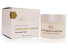 Holy Land Cosmetics Alpha Beta Retinol Restoring Cream -- Read more at the image link. Beta Beta, Retinol Cream, Alpha Hydroxy Acid, Face Skin Care, Holy Land, Salicylic Acid, Anti Aging, Beauty Makeup, Cosmetics