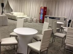 Pure White Seating Area