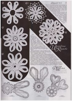 Duplet 147 Russian crochet patterns magazine