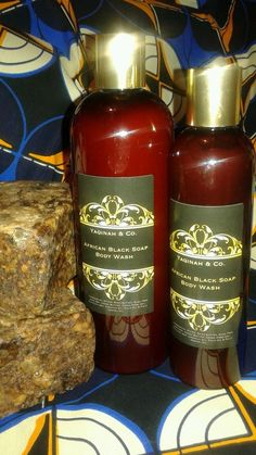 Yaqinah & Co.'s Naturally Organic African Black Soap Body Fragrance Free #YaqinahCo