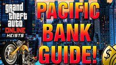 GTA 5 Online Heist - How To Complete Pacific Bank Heist Finale EASY! (GT...