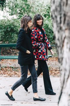 Géraldine Saglio and Emmanuel Alt Paris fashion week spring 2016 Más