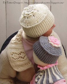 Ribbed crochet hat with Top Flower - Baby to Adult sizes. via Etsy. Crochet Adult Hat, Ribbed Crochet, Crochet Kids Hats, Crochet Cap, Baby Hats Knitting, Crochet Stitches, Knitted Hats, Crochet Patterns, Ravelry Crochet