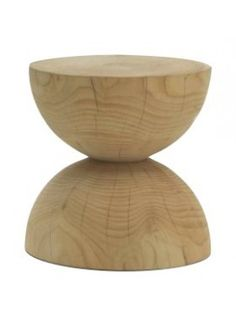 Stool and coffee table Riva 1920 Clessidra design Mario Botta