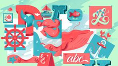 Adobe Cover Illustrations on Behance