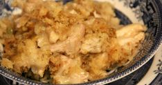A super easy and moist crockpot chicken and dressing, made using a packaged stuffing mix like Pepperidge Farm, adding in sauteed onion and celery, cooked chicken and cream soup, blended with chicken stock.