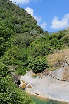 Rocchetta Nervina (IM) - il torrente Barbaira