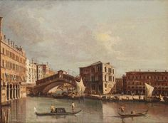 Giacomo Guardi (Venice 1764-1835) attributed to, View of the Church of Santa Maria [...], Furnishings and Paintings from Palazzo Corner Spinelli in Venice (Genova) à Cambi Casa d'Aste | Auction.fr