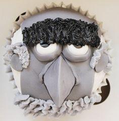 Sam the Eagle Cupcake