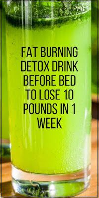 Here is a powerful fat burning detox drink before bed to lose 10 pounds in 1 wee. - Here is a powerful fat burning detox drink before bed to lose 10 pounds in 1 week safely. Detox Drink Before Bed, Drinks Before Bed, Bebidas Detox, Detox Cleanse For Weight Loss, Cleanse Detox, Diet Detox, Juice Cleanse, 1 Week Detox, Natural Detox Cleanse