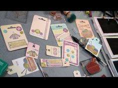 stamping and rambling and tag tips - YouTube