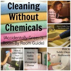 A room-by-room guide to cleaning without synthetic products