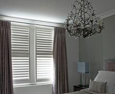 Raamdecoratie kleuren voor in master bedroom slaapkamer