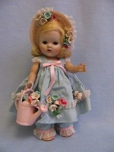 frolicking fables series STRUNG Vintage GINNY Doll 1950 MISTRESS MARY Skinny Vogue Tag All-Original EX++
