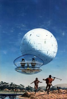 The classic artwork of UK artist Peter Elson representing a golden era of Science Fiction and Fantasy Art in the and Arte Sci Fi, Ufo, Bad Trip, Sci Fi Kunst, Science Fiction Kunst, 70s Sci Fi Art, Classic Sci Fi, Alien Worlds, Futuristic Art