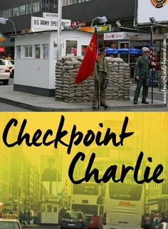 Visiting Berlin's Checkpoint Charlie and The Wall panorama by Asisi
