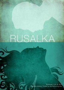 Rusalka by Dvorak.  It is the Little Mermaid in opera form.  It is good.   Scenery was wonderful, as was the costume design.  The music was nice, but I just couldn't get behind the language.  I just don't feel that Czech is a good opera language