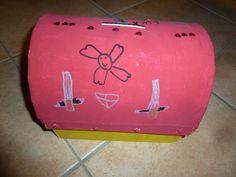 P1100312 Pinata Dragon, Suitcase, Pirate Birthday, Briefcase