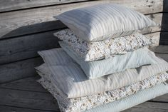 Bedlinen for Summer Duvet covers and pillow cases in GOTS certified cotton. For a beautiful organic sleep. Buy Hats, Fair Trade Clothing, Knitted Throws, Quilted Bag, Linen Bedding, Duvet Covers, Bed Pillows, Organic Cotton, Pillow Cases