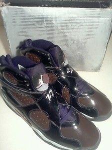 Mens Air Jordan 8 Retro Brown Black Size 13        $174.55 free priority shipping.