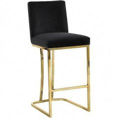 Velvet upholstery makes the Meridian Furniture Inc Heidi 26 in. Upholstered Counter Stool a luxurious seating option for your tall dining table or breakfast. Plywood Furniture, Funky Furniture, Design Furniture, Paint Furniture, Furniture Ideas, Velvet Furniture, Furniture Removal, Furniture Online, White Furniture
