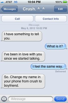 how to get your crush to like you over text   my crush on Tumblr