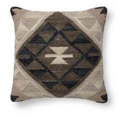 Neutral Kilim Tokat Pillow