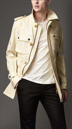 Rainwear Cotton Field Jacket | Burberry