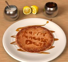 Happy #PancakeDay every1! How are you having them? Old School - lemon & sugar or more lavish?! Blueberries? Nutella?
