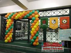 Balloon Arch, Balloons, Company Anniversary, Store, Party, Home Decor, Globes, Decoration Home, Room Decor