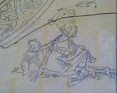 https://flic.kr/p/nwNf91 | Phyllis riding Aristotle [about 1500 CE] | Phyllis riding Aristotle [about 1500 CE] Wiles of women table, detail Weiberlisten-Tisch, detail Nürnberg Germanisches National-Museum  More info: objektkatalog.gnm.de/objekt/HG22