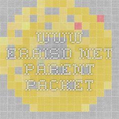 www.eraisd.net parent packet