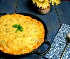 Cozinha da Margô: Omeletão de queijo ao forno.