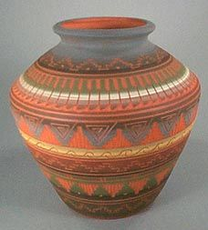Navajo pottery designs Miami Tribe Traditional Navajo Pitch Pottery And Navajo Etched Pottery Native American Pottery Native American Indians Pinterest 117 Best Pottery Designs Images Pottery Designs Pottery Patterns