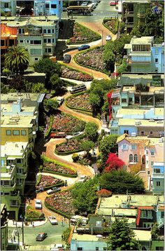 Lombard Street -San Francisco, California