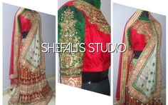 Bridal wear at Shefali's Studio Like our Facebook page /shefalisstudio Follow us on Instagram @shefalisstudio Or email us at shefalis_studio@hotmail.com