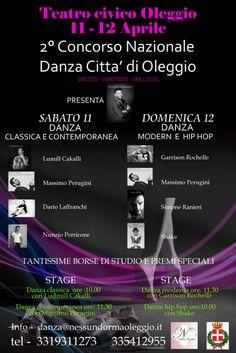 da 11/04/2015 a 12/04/2015 Concorso Danza Oleggio LUOGO: Teatro civico Oleggio REGIONE: Piemonte PROVINCIA: Novara CITTA': Oleggio http://www.weekendinpalcoscenico.it/portale-danza/doc.asp?pr1_cod=4743#.VQ_5gY6G9V0