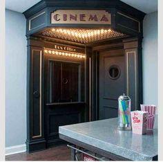 Cinema vintage - lighting styles