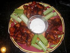 Gluten Free Hot Wings Recipe perfect for superbowl
