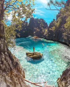 These are the most beautiful islands in Asia - I travel- Das sind die allerschönsten Inseln in Asien – ichreise These beautiful islands in Asia have paradisiacal beaches, wonderfully warm, turquoise blue sea, spectacular waterfalls and wild jungles. Beautiful Places To Travel, Romantic Travel, Cool Places To Visit, Places To Go, Good Places To Travel, Amazing Places, Les Philippines, Philippines Travel, Coron Palawan Philippines